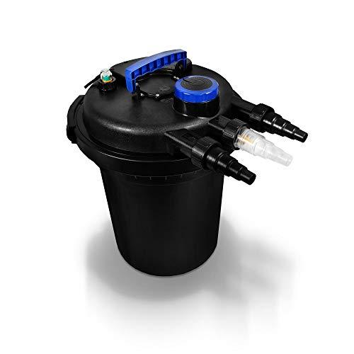 Jiobapiongxin Mini Pompa Gonfiabile elettrica del Monitor del compressore dAria del Metallo della Pompa Gonfiabile DC12V con 3 adattatori ugello Nero JBP-X