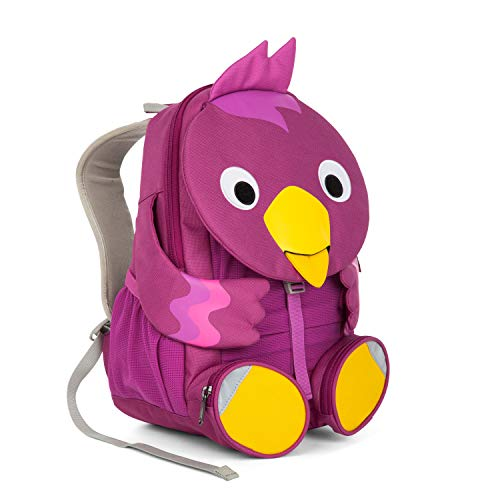 Affenzahn Kinderrucksack mit Brustgurt Viola Vogel für 3-5 Jährige Jungen und Mädchen im Kindergarten oder Kita der Große Freund