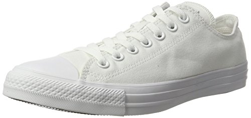 Converse Chuck Taylor All Star, Baskets Basses Mixte Adulte Blanc