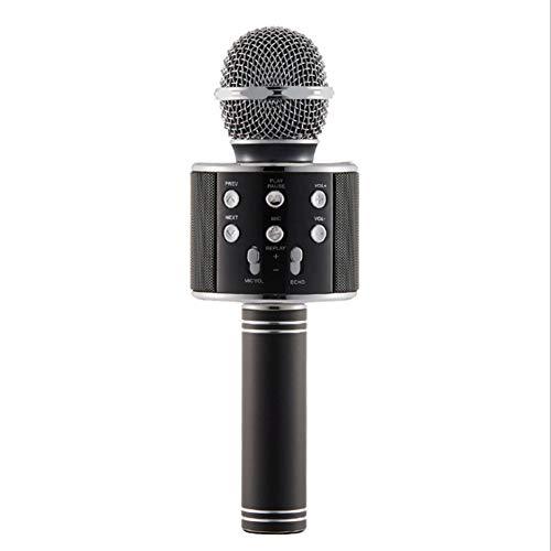 Singen Maschine Offizielle Mitfahrzentrale Karaoke, Portable mit Bluetooth Hand Einfachen HD Stereotf Karte Maschine Weihnachten Geburtstag Zuhause-Party für Android IOS oder Smartphone zu nutzen?,2
