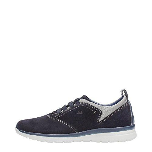 Braking 5796 Sneakers Uomo Scamosciato Blu Scuro Blu Scuro 44