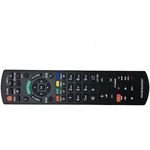 Vinabty reemplazado control remoto del televisor N2QAYB000239 para Panasonic TX-32LMD72FA TX32LX700F TX-32LX700F TX32LXD70F TX-32LXD70F TX32LXD75F TX-32LXD75F TX32LXD76F TX-32LXD76F