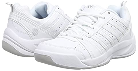 K-Swiss Performance KS TFW VENDY II CARPET~WHT/SLV - M, Damen Tennisschuhe, Weiß (White/Silver), 36 EU (3.5 Damen