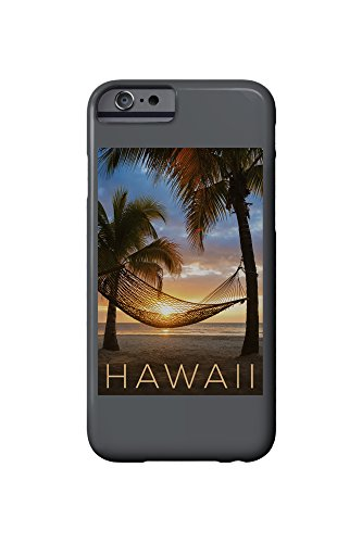 Hawaii - Hammock and Sunset (iPhone 6 Cell Phone Case, Slim Barely There)