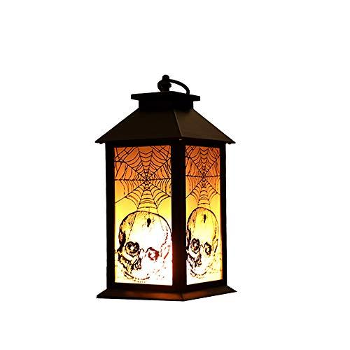 rne Kreative Party Geburtstags Szene Arrangement Dekorative Licht Spinne Web-Kopf Schädel Doodle Bedroom Wohnzimmer Korridor Party Gift Light ()