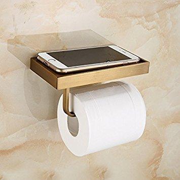 hiendure hochwertig wandhalter toilettenpapierhalt papierhalter kchenrollenhalter toilettenpapierhalter mit deckel abdeckung - Moderner Freistehender Toilettenpapierhalter