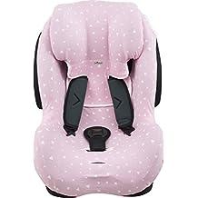 Funda para silla de coche Be Cool, Thunder- Foppapedretti Isodinamik-Nurse Tropic JANABEBE® Sparkles rosa