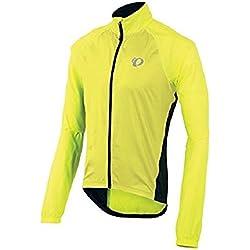 PEARL IZUMI Elite Windproof Jacket, Man, Fluorine Yellow, S