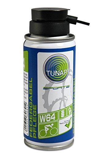 federgabel oel TUNAP SPORTS Federgabel Reiniger auf Öl-Basis mit Dosier-Sprühkopf - Gabelpflege W64 (altes Design) - 100 ml - bis 2016