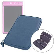 """Etui coque bleu rigide avec zip pour tablette Boogie Board Tablette 8.5 pouces et MpMan MPDC88, MID84C & MP843 8""""- Garantie 5 ans"""