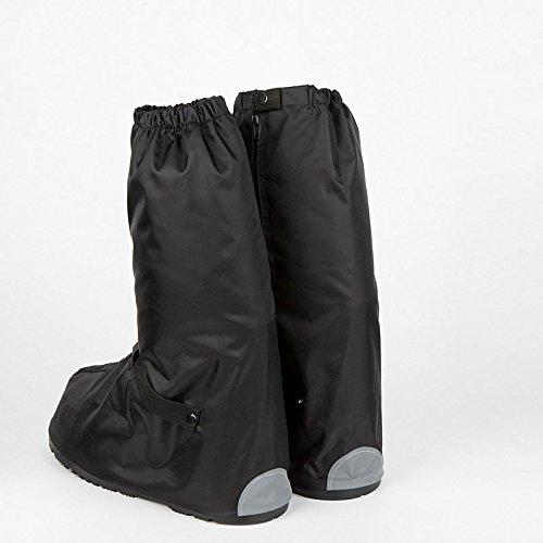 HHBO Manicotto impermeabile del pattino Motociclo della bicicletta con la prevenzione di barili elevati , black xxxl 48-50 black xl 42-43