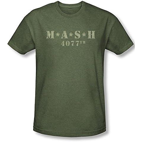 M*A*S*H - - Hombre apenó el logotipo Camiseta