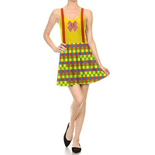Frauen Halloween Kürbis Kleidfrauen Männer Halloweenhalloween Print Kleid Europäischen und Amerikanischen Clown Halloween Kleid Weiblich 3D