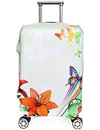 OneSky-UK Cubierta de equipaje, protección personalizada Durable lavable, tamaño de protector de la maleta se ajusta 18-32 pulgadas