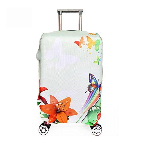 OneSky-UK Cubierta de equipaje, protección personalizada Durable lavable, tamaño de protector de la maleta se ajusta 18-32 pulgadas (XL(29-32