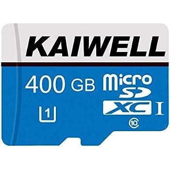 Tarjeta SD SDXC Micro SD de 128 GB/256 GB/400 GB, Tarjeta TF de Memoria Clase 10 con Adaptador para teléfono, Tableta y PC 400GB