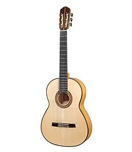 D'aranjuez flamenco a 300 fZ vollmassive flamenco guitare 4/4 au fini brillant naturel avec table en épicéa de sitka massif, fond et éclisses en cyprès