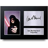 HWC Trading Ian McDiarmid Geschenke Unterzeichneten A4 Gedrucktes Autogramm Star Wars Palpatine Druck-Foto-Bilderanzeige