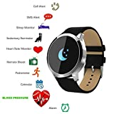 Smart Watch Bluetooth tkstar Smartwatch Sport Smart Armband Online Activity Tracker, wasserdicht, mit Touch Screen für iPhone IOS und androir Samsung Huawei Wiko Xiaomi