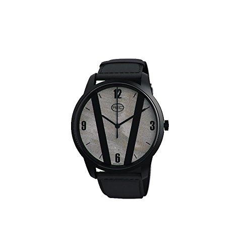 rec-cooper-c3-para-hombre-reloj-infantil-de-cuarzo-con-esfera-analogica-gris-y-correa-de-cuero-negro