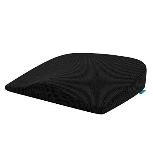 bonmedico Wedge Cushion, Ergonomisches Sitzkissen, Keilkissen ergonomisch geformt, Sitzkeilkissen ideal als Stuhlkissen im Büro & Sitzkissen im Auto, LKW, Bus & auf Reisen