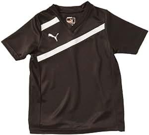 PUMA Kinder Trainingsshirt Esito 3, black-white, 128, 700993 03