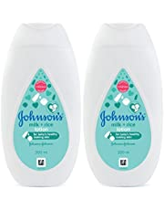 New Johnson's Baby Milk and Rice Lotion 200 ml (Pack of 2)