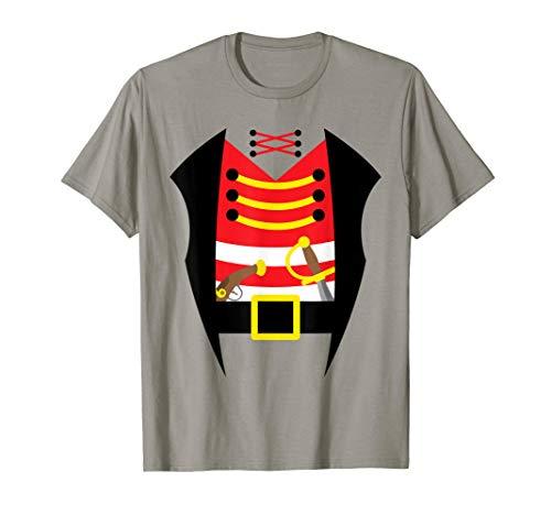 Piraten Kostüm T Shirt Einfache Karneval Verkleidung Idee (Machen Sie Eine Piraten Kostüm Frauen)
