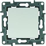 Legrand LEG96604 Niloe - Interruptor pulsador, color blanco