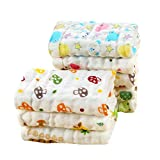 Best Baby Washcloths - Baby Bucket Muslin Baby Reusable Extra Soft 6 Review