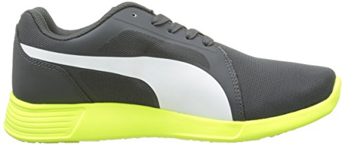 Puma St Trainer Evo, Sneakers Basses mixte adulte Gris (Dark Shadow/White)