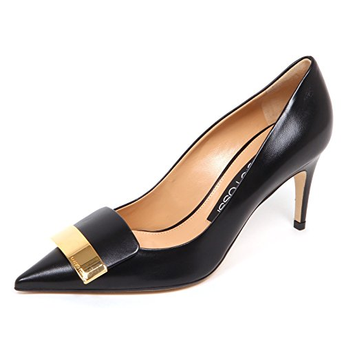 Sergio Rossi E4730 Decollete Donna Black sr1 Scarpe Shoe Woman