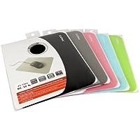Opti-Pad cliptec Silicone ultrasottile Mouse Pad ottico [1 Pad] - rosa