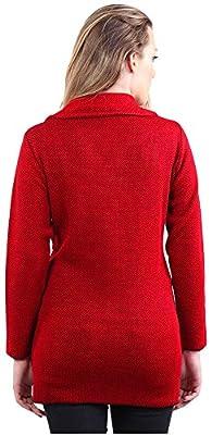 Montrex Red Long Coat for Women