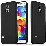 Cadorabo - Custodia Candy silicone TPU Samsung Galaxy S5 super sottile per - Case Cover ...