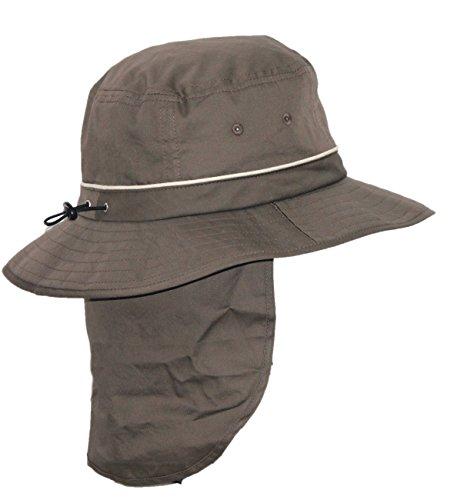 Rigon Headwear Herren für Damen UV-Bucket-Hut, Khaki, 59 cm (Headwear Herren)