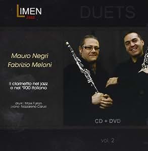IL CLARINETTO NEL JAZZ E NEL '900 ITALIANO (CD+DVD) MAURO NEGRI, FABRIZIO MELONI