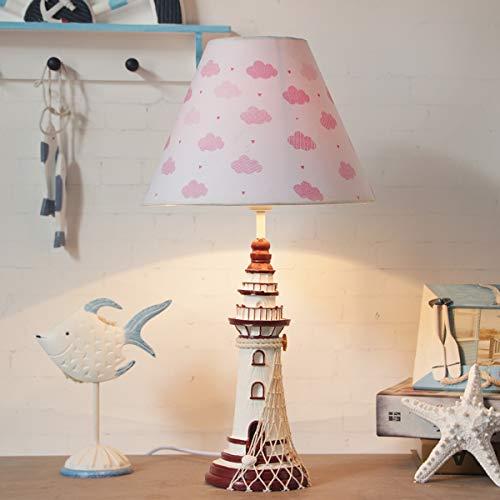LED Cartoon Lámpara de mesa E27 durmiendo cama habitación noche lámpara,B