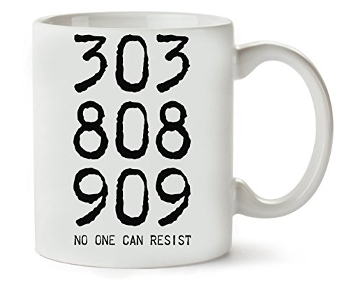 303 808 909 Roland Acid House Techno Art Klassische Teetasse Kaffeetasse