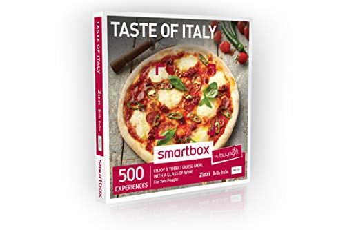034fcea45586 Buyagift Taste of Italy Gift Experiences Box - 350 Italian dining gift  options including a three