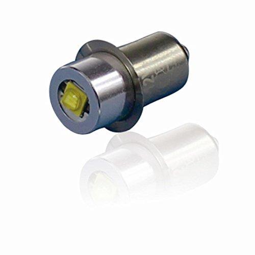 Maglite Led Conversion (jomitop DC 3V 4–12V 6–24V P13.5S High Power LED Upgrade Birne für Maglite 3W 200Lm, Glühbirnen Ersatz LED Umrüstsatz für 3456C/D-Cell Taschenlampen Taschenlampe)
