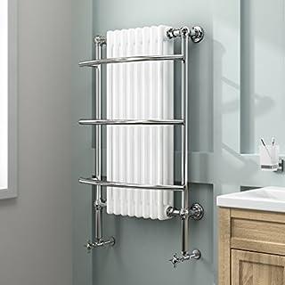 iBathUK | 8 Column Traditional Designer Heated Towel Rail Bathroom Radiator RT09