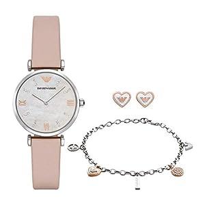 Emporio Armani Reloj para Mujer de Cuarzo con Correa en Cuero AR8039