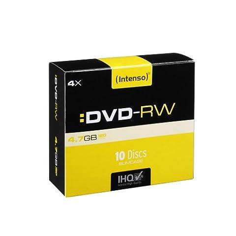 Intenso DVD + R 4,7 GB vitesse 1 16x resistant anti-scratch cloche