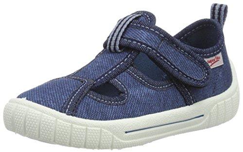 Superfit  Bill, chaussons d'intérieur garçon Blau (water Kombi)