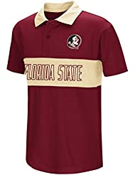 "Florida State Seminoles NCAA ""Setter"" Youth Jeunes Performance Polo shirt Chemise"