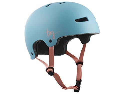 TSG Damen Evolution WMN Solid Color Helm Satin Porcelain Blue S/M - Solid Color