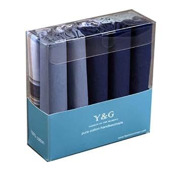 Discount-Geschenk-Idee 10 Pack Taschentücher WHOLESALE LOT MENS Cotton Mit Geschenkbox MH1054