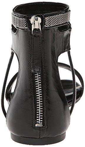 Nine West Saffy Leder Sandale Blk/Blk