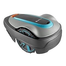 GARDENA SILENO city 300 | Tondeuse Robot jusqu'à 300m² – Tond sous la pluie et passages étroits, Bluetooth App, Capteur…